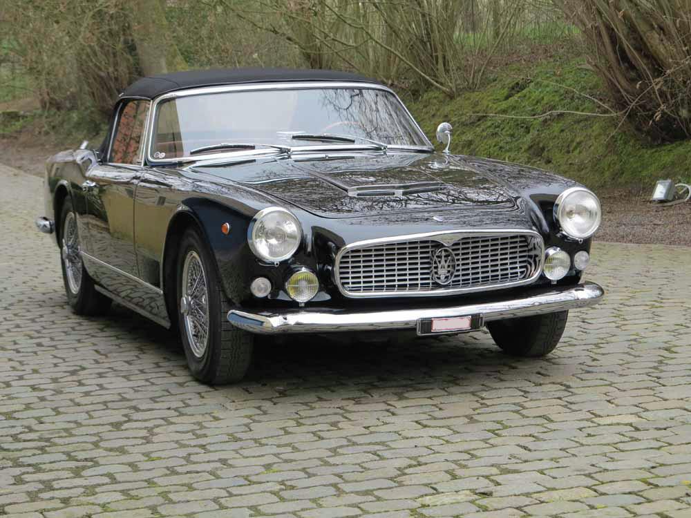 1961 Maserati 3500 Vignale Spider Classic Motor Action