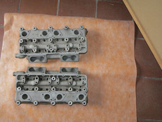 Parts for sale 8V Fiat/Siata competition cylinder heads and more