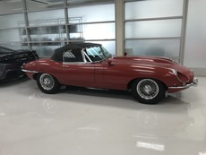 Jaguar E type S1 Roadster 4.2